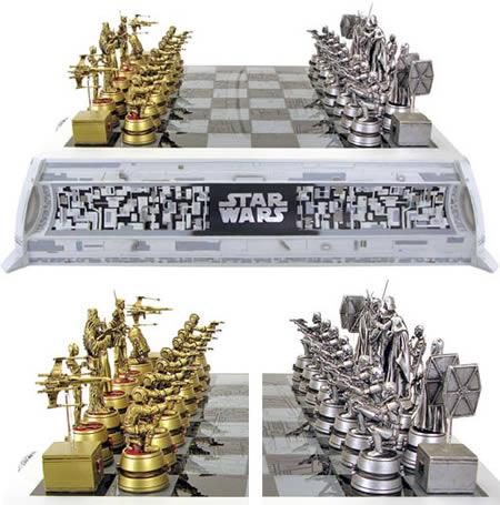 6Star War Chess Set