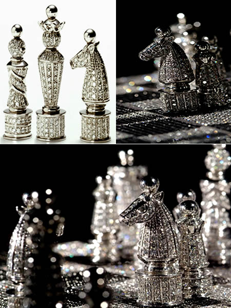 most expensive chess set 12 fascinating objects covered with diamonds diamond phone