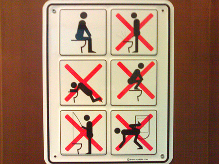 Creative And Funny Toilet Signs Bathroom Sign Restroom Sign