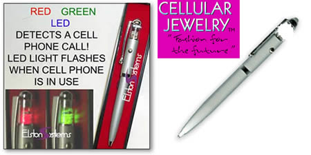 13Flashing Cell Phone Pen