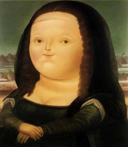 Weird Mona Lisa Pictures 9