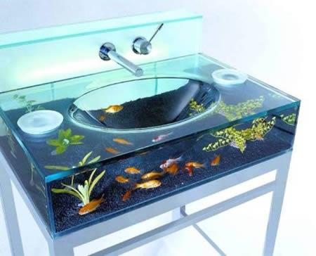Cool Bathroom Sink 15 most creative sinks - cool sinks, aquarium sink - oddee
