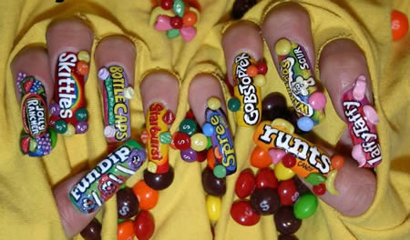 15 Coolest Nail Art Designs - nail art designs, nail art ideas ...