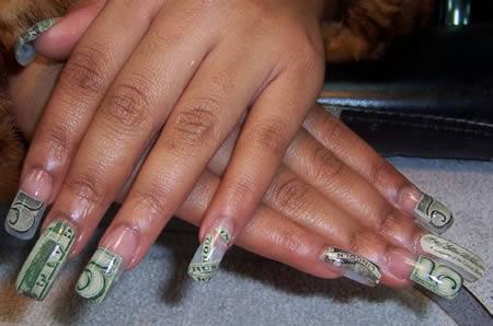 15 coolest nail art designs nail art designs nail art ideas 15money nail art design prinsesfo Gallery