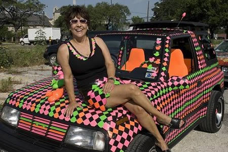 11Duct Tape Pimped Car