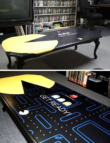 12 Coolest Tables cool table human table pacman table Oddee