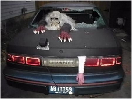 Addams Family Trunk Or Treat