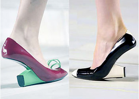 Inverted Heel Shoes By Marc Jacobs