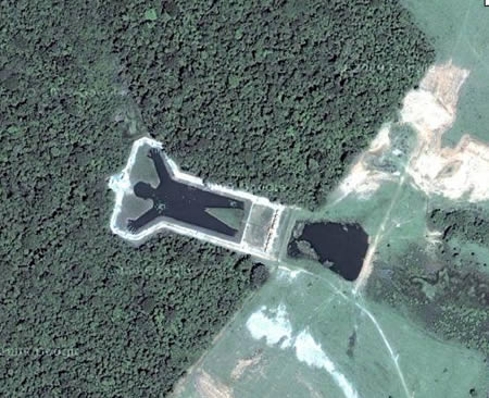 15 Coolest Google Earth Finds - funny google earth, funny