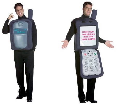 cell phone costume 3999