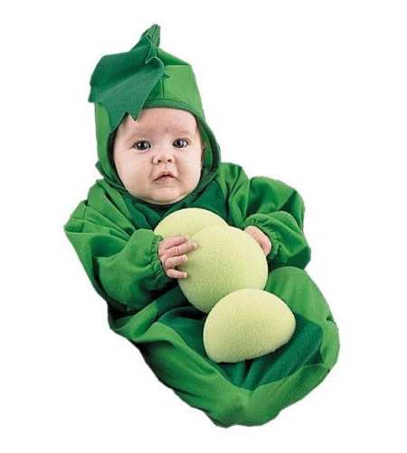 baby pea in the pod halloween costume 1899