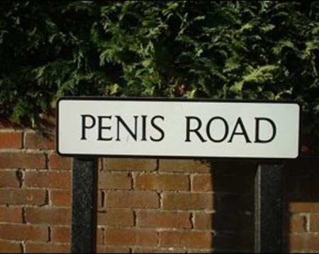 15 Funniest Street and Roads Names - road names, funny