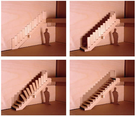 12Foldable Staircase