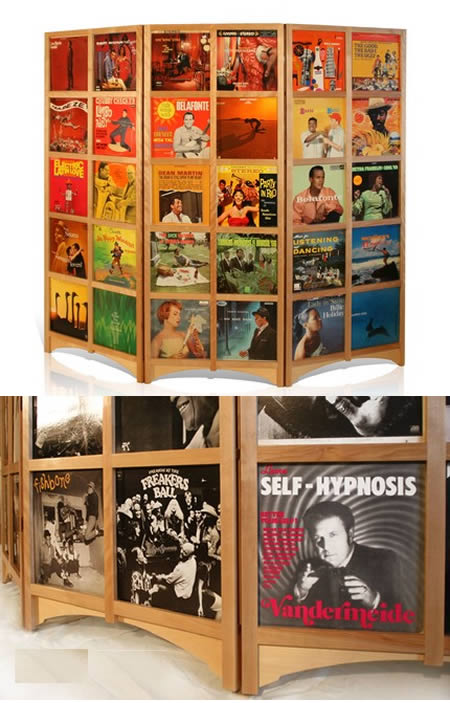 Exceptional LP Room Divider By Etsy. Part 30