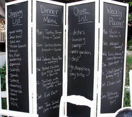 Oh Yes, Itu0027s A Chalkboard Room Screen Divider, Quite Useful. Part 40