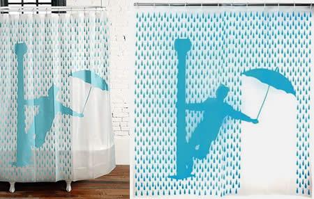 Singing Rain Shower Curtain 2800