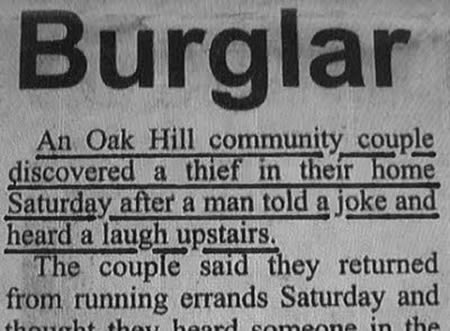 7The Hidden Robber Who Was Discovered Because He Laughed At Victims Joke