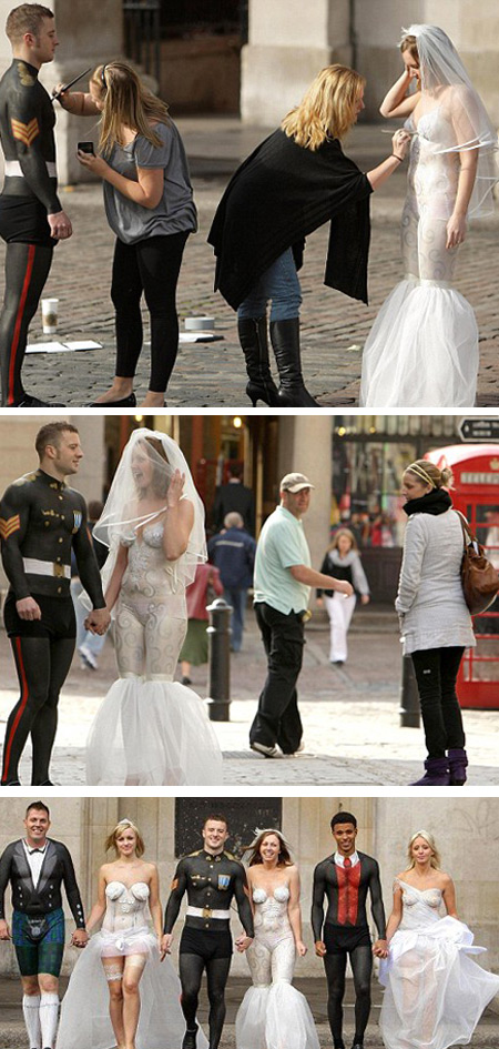 12 Of The Most Bizarre Wedding Dresses