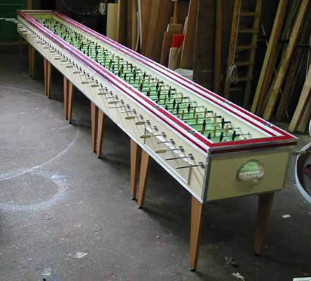 2World s Largest Foosball Table. 10 Coolest Foosball Tables   foosball tables   Oddee