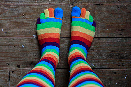 13 Creative Socks - funny socks - Oddee