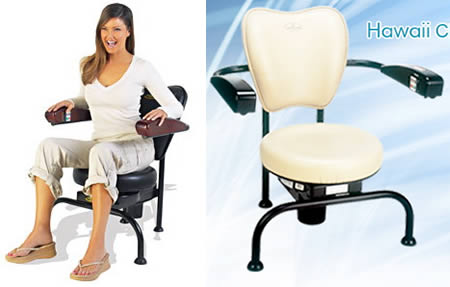 10 wackiest fitness products - fitness products, hawaii chair