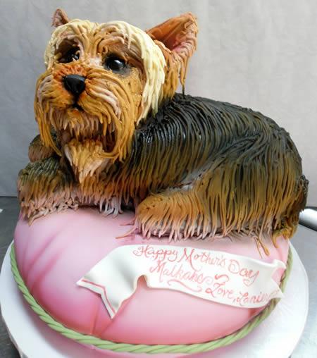 12 Most Amazing Dog-shaped Cakes