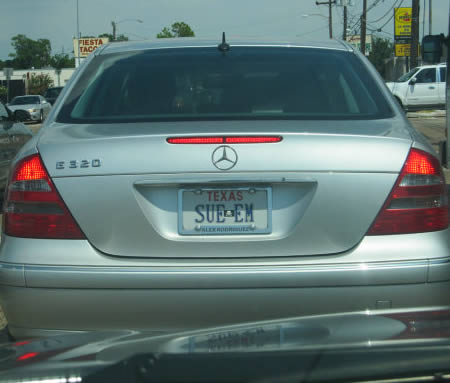 Another 16 Bizarre And Funny License Plates Funny