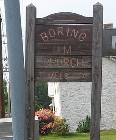 Funny Unusual Names: 12 Bizarre Church Names