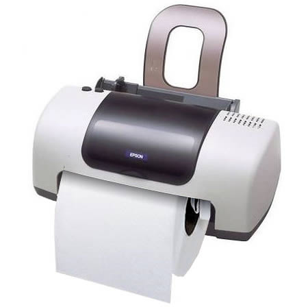 12 Funniest Toilet Paper Holders Toilet Holder Cool Holder Oddee - Icarta-ipod-dock-and-toilet-roll-dispenser