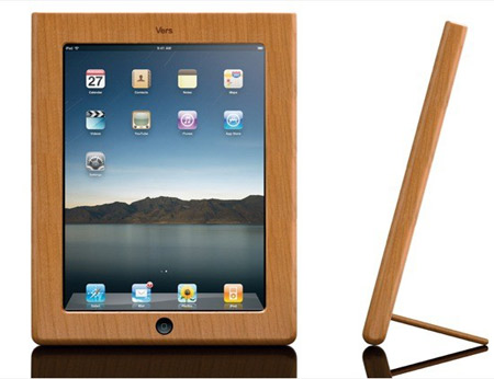 Vers Is Launching Wooden IPad Cases Made From Hardwoods And Bamboo To Protect Your In Luxurious Style Without Going The Route Of Gilding Or