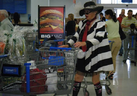 14 Funniest People of Walmart Photos Outrageous Outfits On Walmart Shoppers