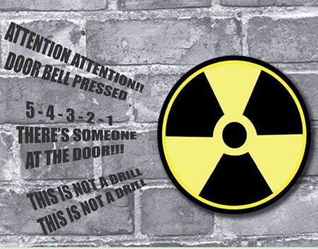 9Nuclear Doorbell  sc 1 st  Oddee & 12 Most Creative Doorbells - funny doorbells cool doorbells - Oddee