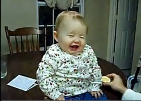 Image of: Comedy 5baby Eating Lemon Oddee 10 Funny Babies On Youtube Videos Babies Youtube Funny Babies