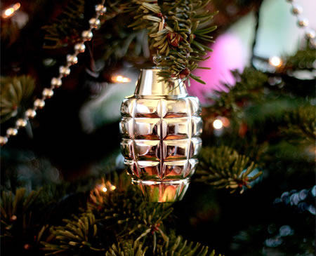 these sweet grenade ornaments 20 by suck uk will ensure that your next christmas is a blast pun very much intended while weve long been fans of