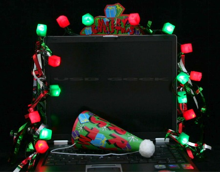 17usb computer decoration kit - Usb Powered Christmas Lights
