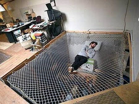 Cool Couch Beds. File This Under Cool Beds For Geeks. Located Inside An  Actual