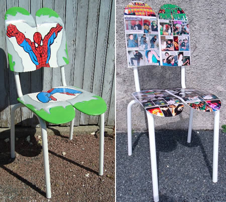 Chairskate, A Seemingly Singularly Focused France Based Design Firm, Makes  These Really Cool Chairs Out Of Skateboards. The Chairskates Take On The  Bold ...