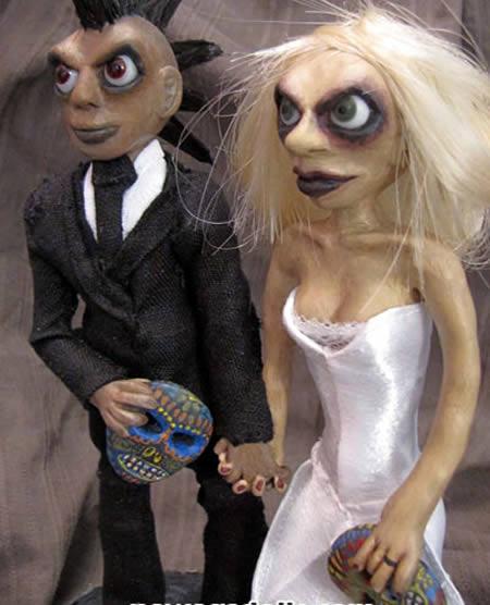 15 Craziest Wedding Cake Toppers Crazy Wedding Cake