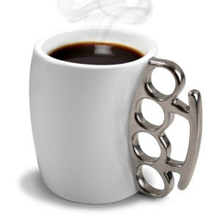 put a fierce and spin on the coffee with help from this unique mug 15