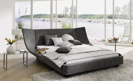 The Cocoon Bed is an eye catching design that was designed by designer  Thomas Althaus for RUF. What makes this bed interesting is the beautiful  big ...