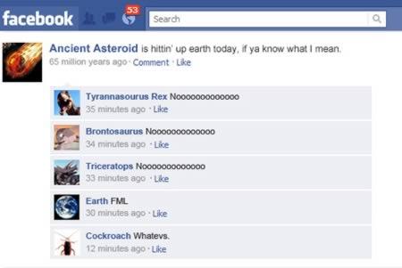 Hilarious Historical Facebook Updates