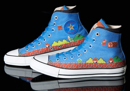 89064f70ea4d Another creative sneakers with print designs from Super Mario Bros