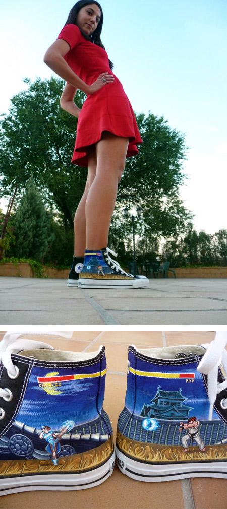 7f4f53e732d2 12 Coolest Converse Shoes - cool converse - Oddee