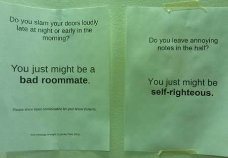 15 Hilarious Roommate Notes - funny roommate notes - Oddee