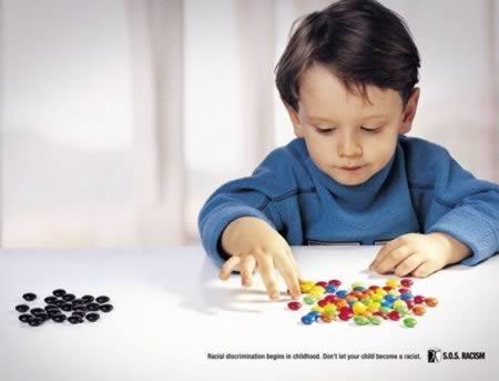 Discriminatie. Nl print advert by imagine: hide, 2   ads of the world™.