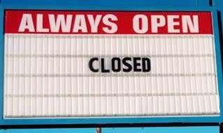 12 Hilarious Closed Signs - closed signs, hilarious signs ...