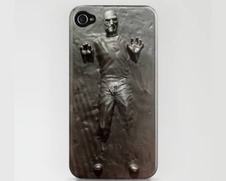 Meet One Of The Best IPhone Cases Ever: Steve Jobs Trapped In Han Solou0027s  Carbonite Tomb, Forever, On The Back Of Your IPhone 4. The Plastic Case  Goes For ...