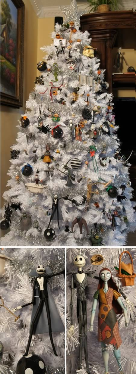 3nightmare before christmas tree