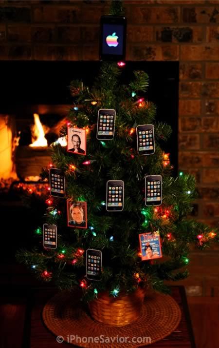 7iphone christmas tree