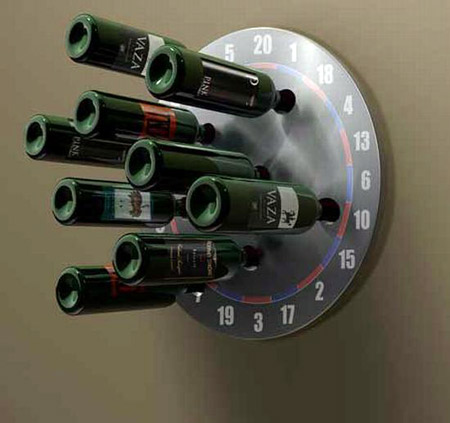 check out this gottacha wine rack from chetan sorab allinall u2013 a perfect gift for someone who is fond of playing darts